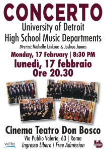 concerto DETROIT HIGH SCHOOL